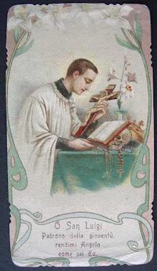 S. Luigi Gonzaga s.j.