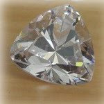 Cubic Zirconia White Color Trillion Shape AAA Quality