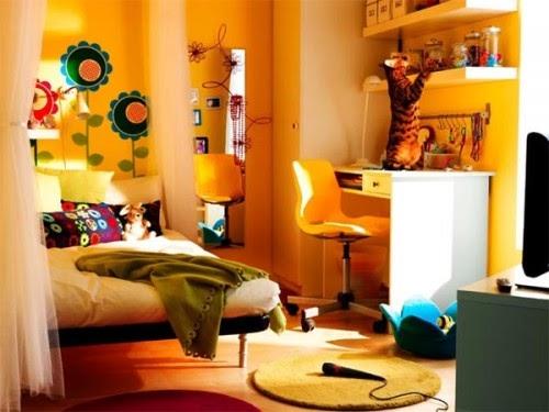 Dorm Room Decor Stock Photo