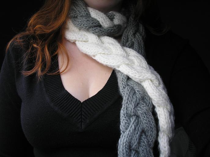 Moda Vera Knitting Patterns Scarf : Pixelated Mushroom: Green Tea Scarf Pattern Giveaway