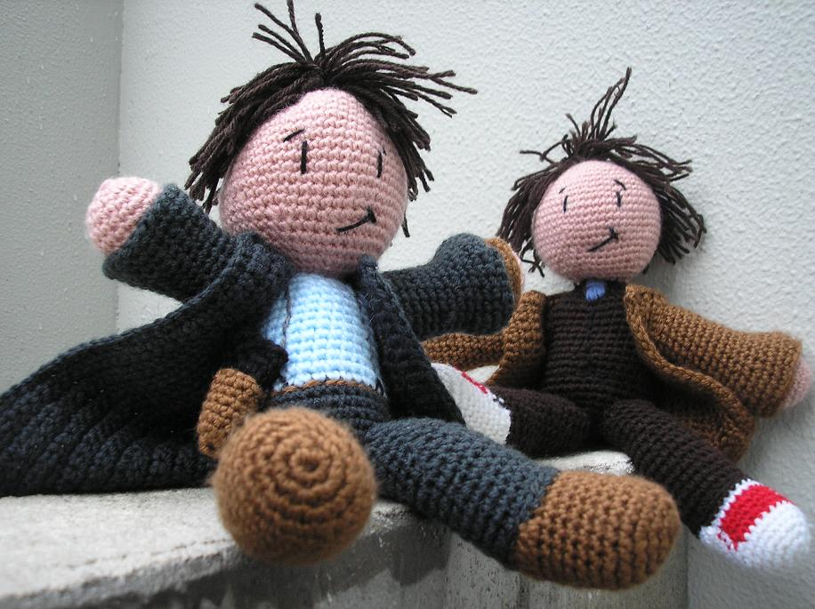 Pixelated Mushroom John Barrowman Big And Cuddly Free Crochet Pattern