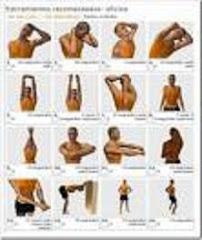 Algunos ejercicios para la oficina...