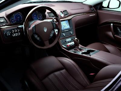 Maserati Granturismo Interior. Maserati GranTurismo S