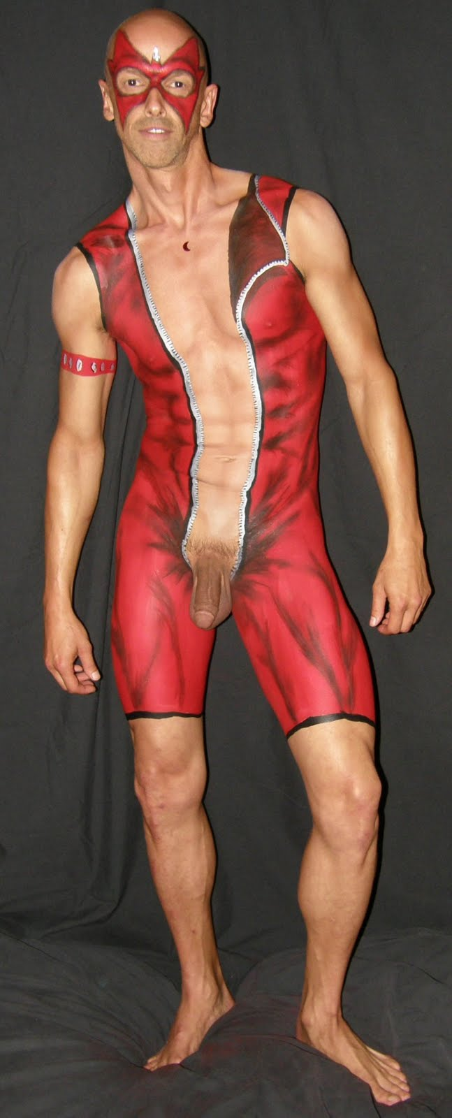from Emiliano body paint naked boys