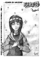 Hinata en Navidad - Naruto manga by chobed