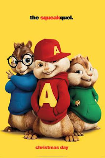 ALVIN AND THE CHIPMUNKS 2 : THE SQUEAKQUEL movies poster CIO