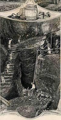 Antigua minas de carbon en Mariel