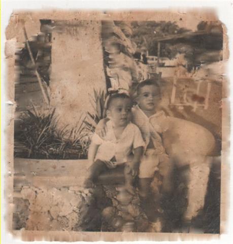 Julito y Lorenzo en Monte Verde