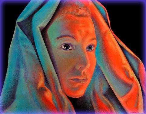 Lumi re noire et peinture fluo regard un travail sign fr d ric gracia for Peinture harmonie des couleurs