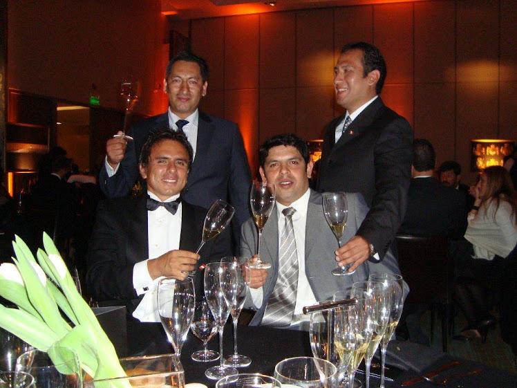 Cena maridaje de Möet Chandon en honor al Concurso mejor Sommelier del Mundo Chile 2010