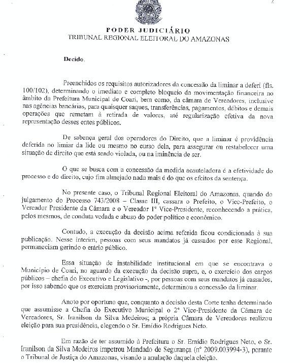 URGENTE: DESEMBARGADORA MARIA DAS GRAÇAS DESBLOQUEIO PARA O TJ