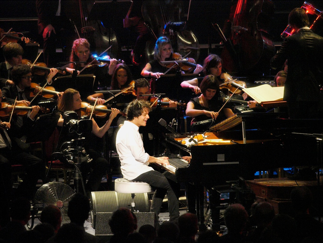 Londonjazz review jamie cullum prom for Heritage orchestra