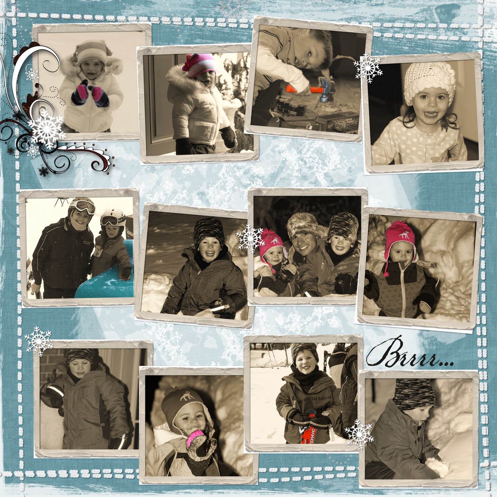 Mommaru blog scrapbooking ideas - Scrapbooking idees pages ...