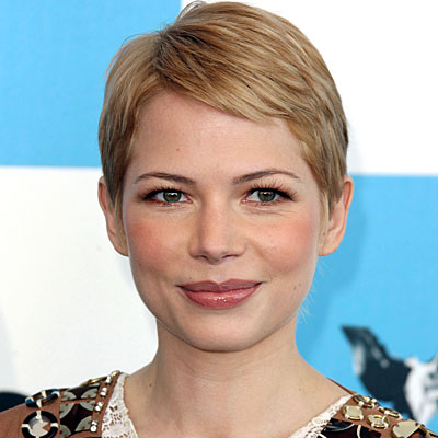 michelle williams short hair cannes. be Michelle Williams