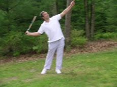 Catskill Farms Owner Playing Badminton
