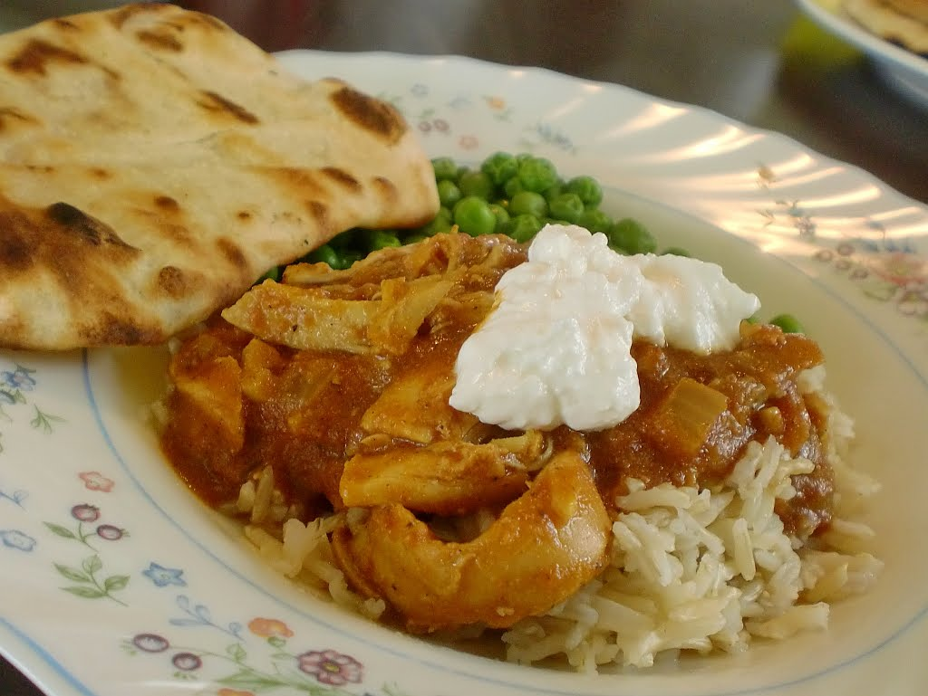 What A Dish!: Slow Cooker Chicken Vindaloo