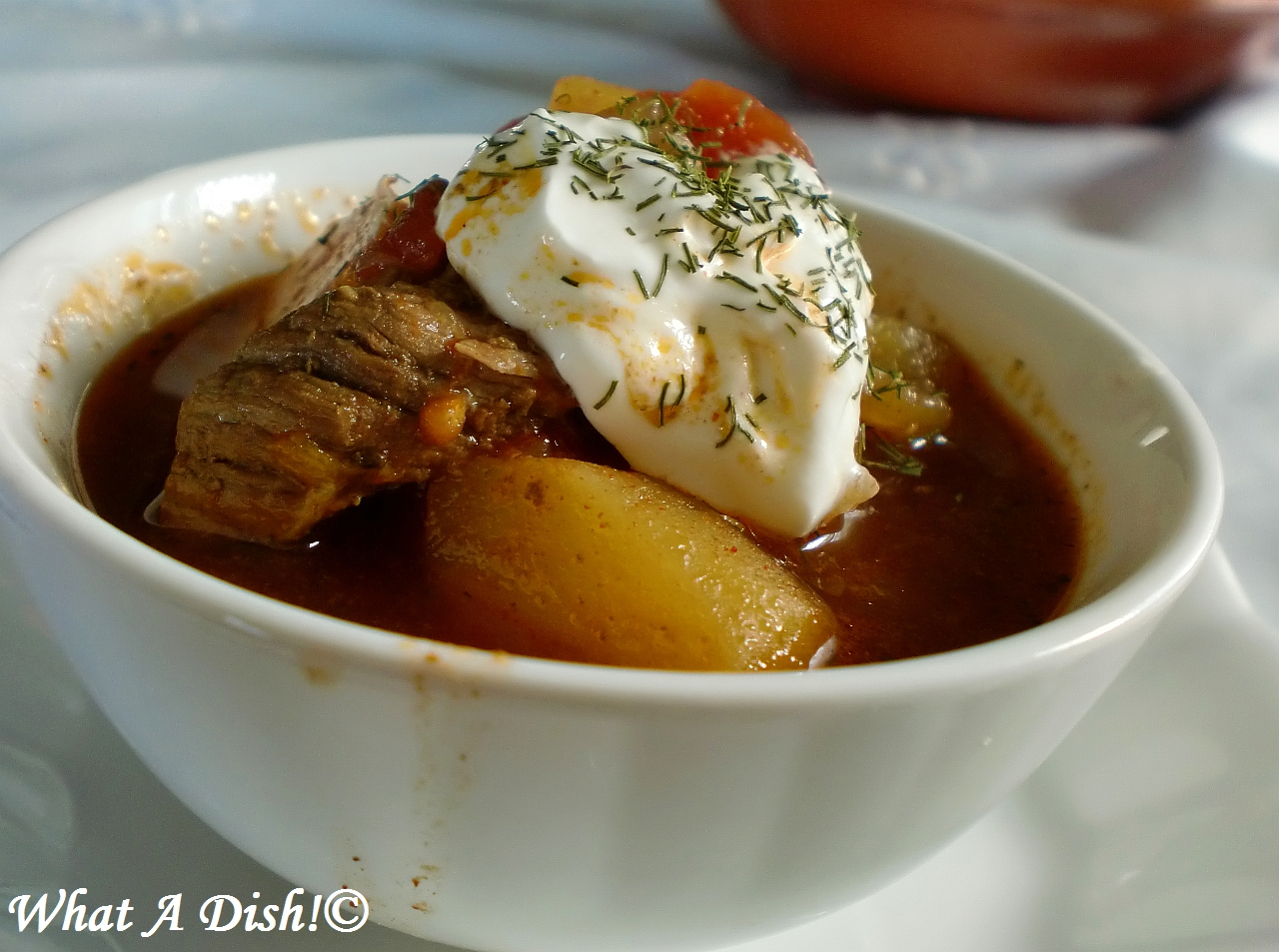 What A Dish!: Hungarian Goulash Soup