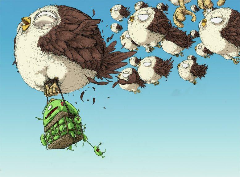 Los Pájaros - Jonatan Cantero