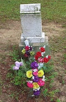 graveside flower bouquet