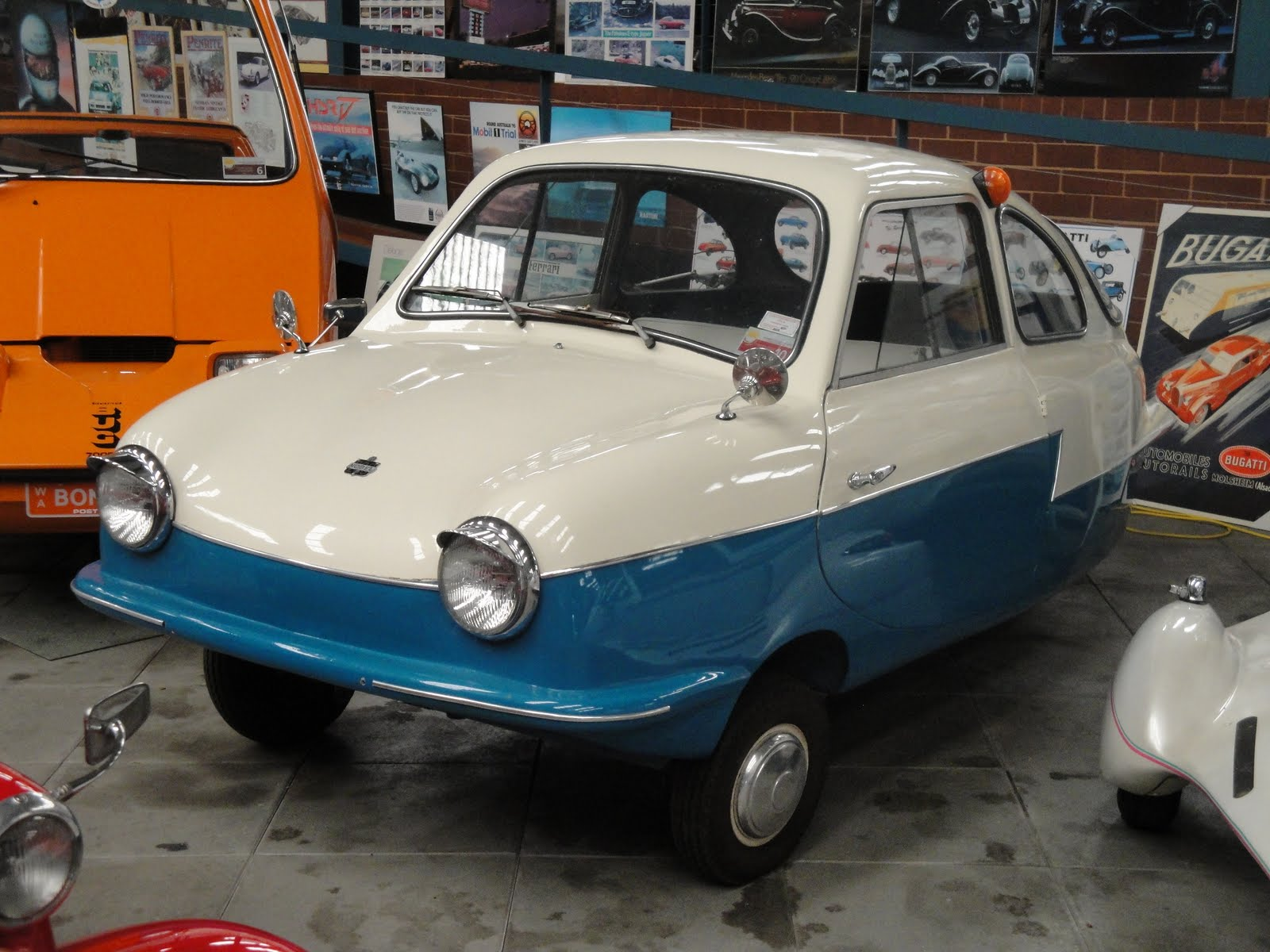 the Messerschmitt KR200.