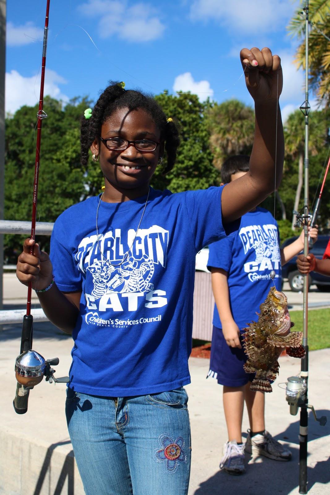 Florida fishing academy boca raton housing authority for Boca raton fishing