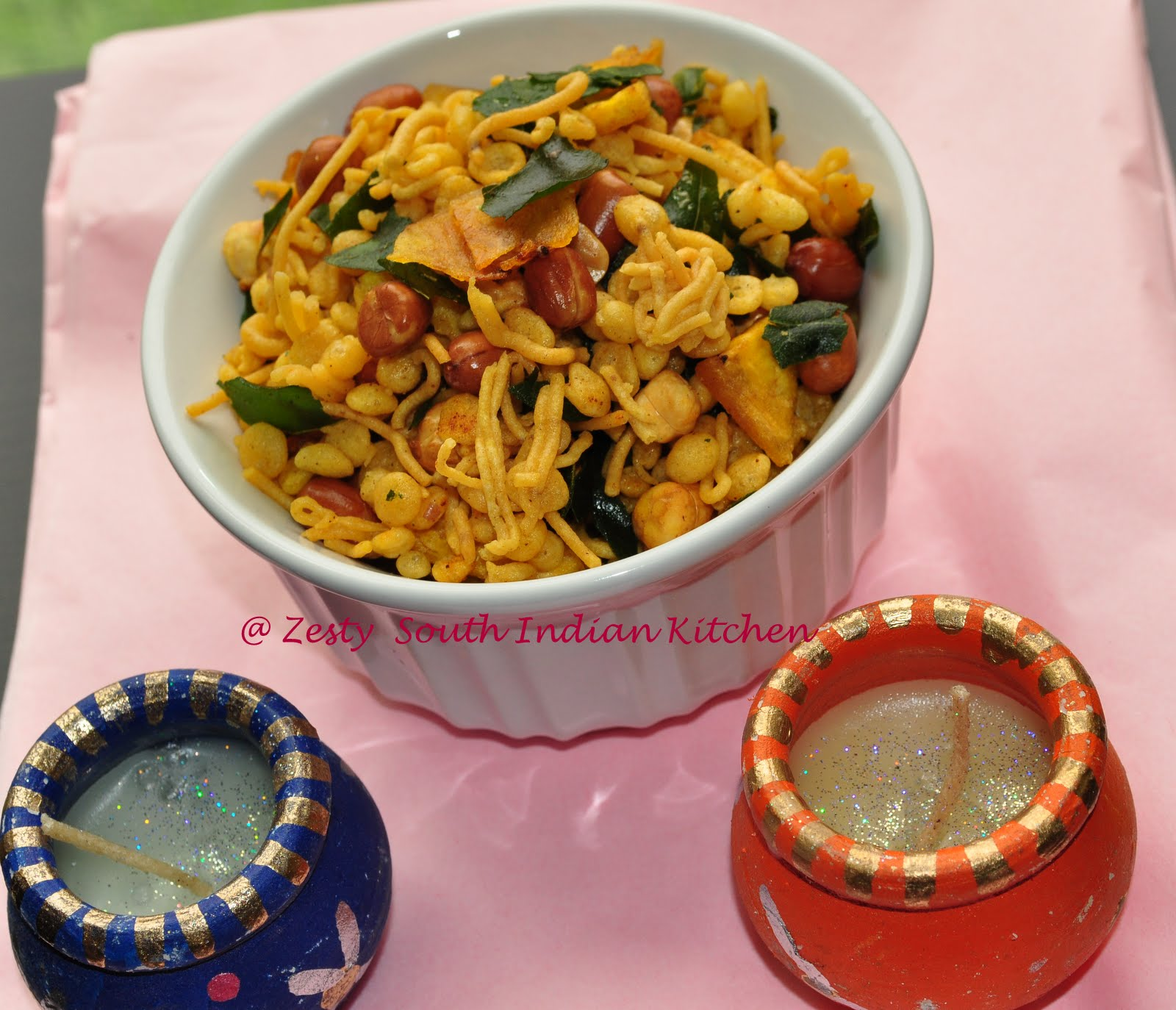 South Indian Mixture And Mysore Pak : Diwali Treats From My Kitchen