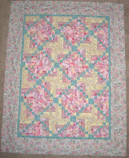 Fairy Flight quilt top