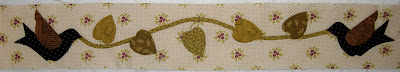 Autumn House border applique