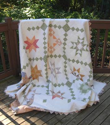 Star Quilt Along quilt