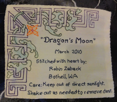 Dragon's Moon, label