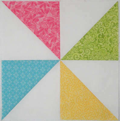 Pinwheel Party block 4