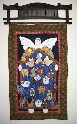 Glad Tidings quilt front