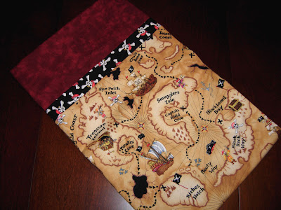 pirate pillowcase