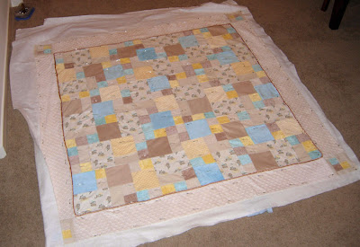 basted challenge quilt