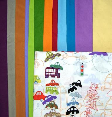 quilt-along fabrics