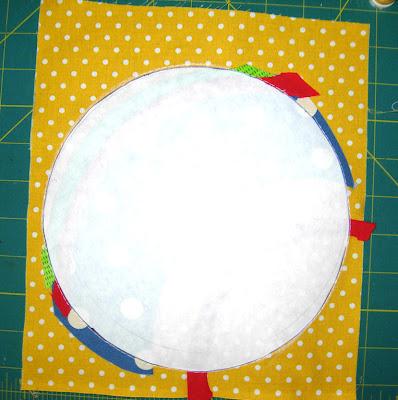 freezer paper circle
