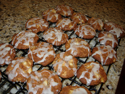 tasty apple spice cookies