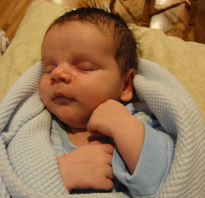 baby boy, May 2010