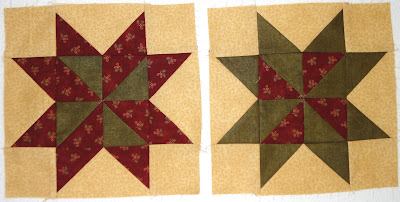 Greenpiece pieced block number 10