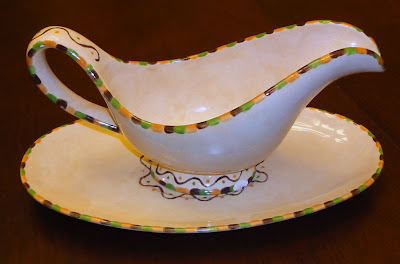 Robin's (now chipped) gravy boat