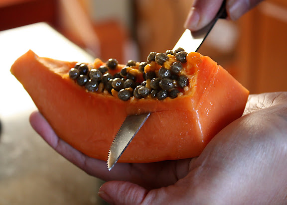 How To Cut And Prepare Papaya Shesimmers