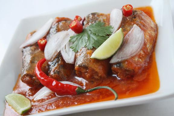 thai canned sardine salad