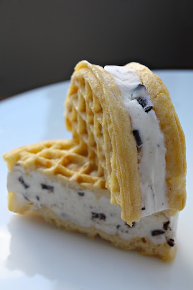 eggo ice cream sandwich
