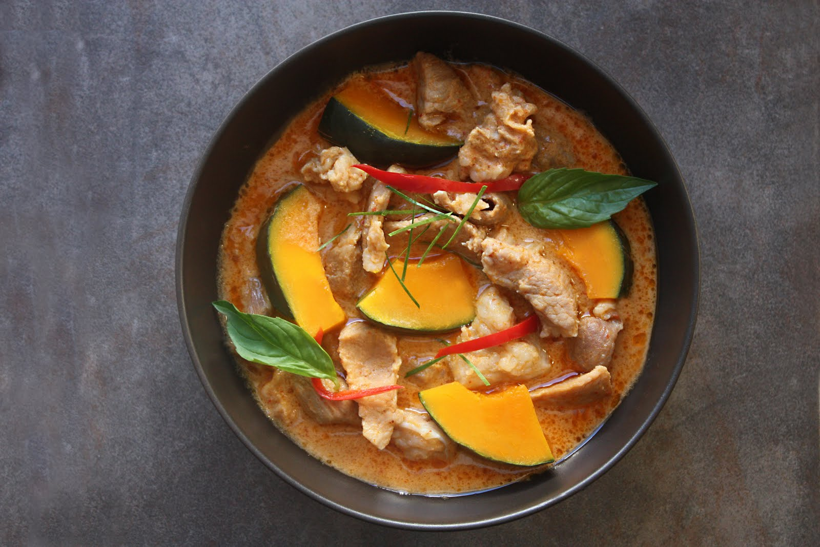 Kabocha squash pork recipe