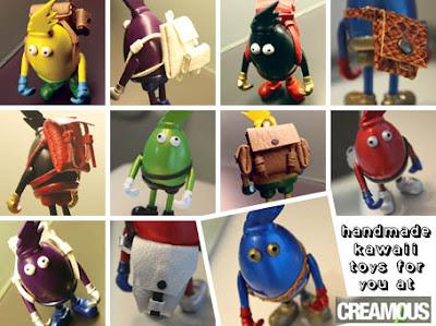 Handmade kawaii toys at Creamous