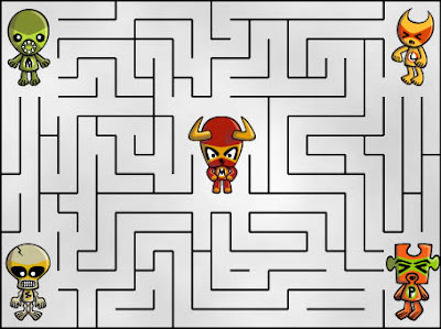 Can you work out who helped the Minotaur Mascot escape?