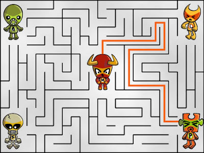Did you work out who helped the Minotaur Mascot escape?