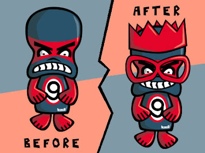 Grumpy Mascot makeover!