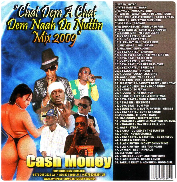 CASH MONEY - CHAT DEM AH CHAT (2009) | DANCEHALL | ANTHEMZ