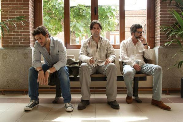 Amigos, con Manuela Velasco, Ernesto Alterio, Diego Martín y Alberto Lozano